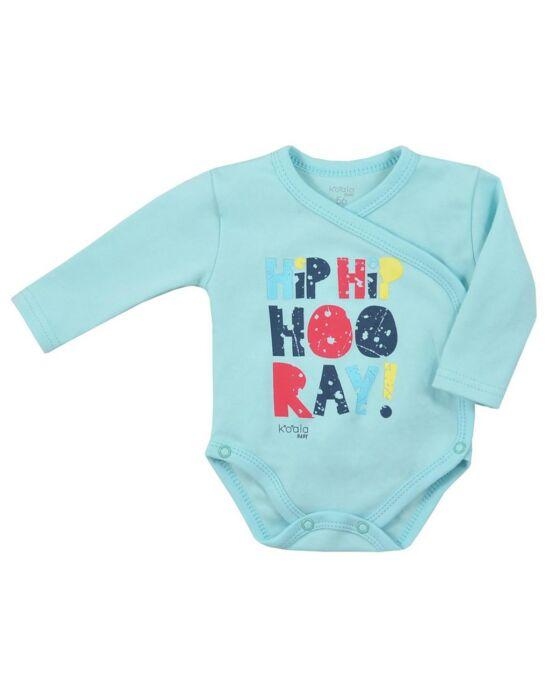 Baba body patentos Koala Hip-Hip kék
