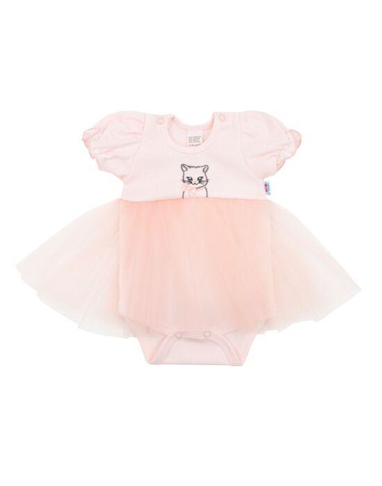 Baba body tüll szoknyával New Baby Wonderful rózsaszín