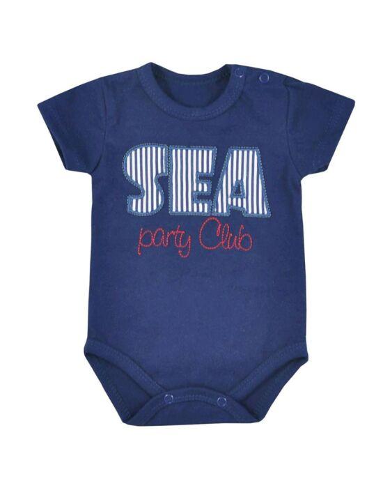 Baba nyári body Koala Sea Party piros