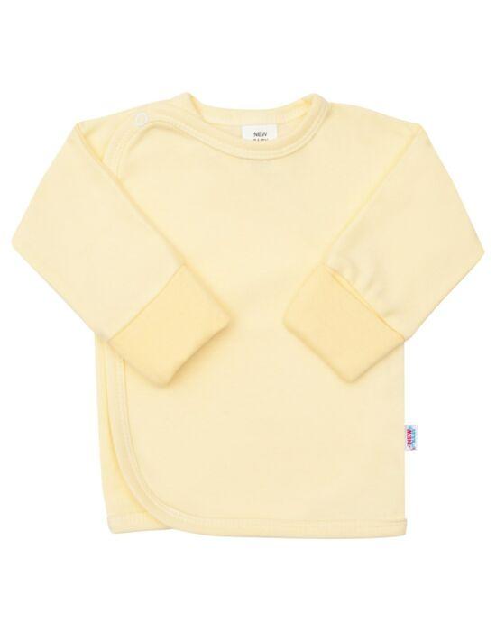 Csecsemő patentos ingecske New Baby sárga