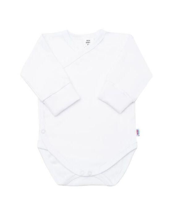 Csecsemő patentos ingecske New Baby fehér