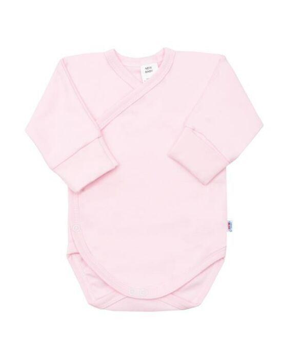 Csecsemő patentos ingecske New Baby rózsaszín