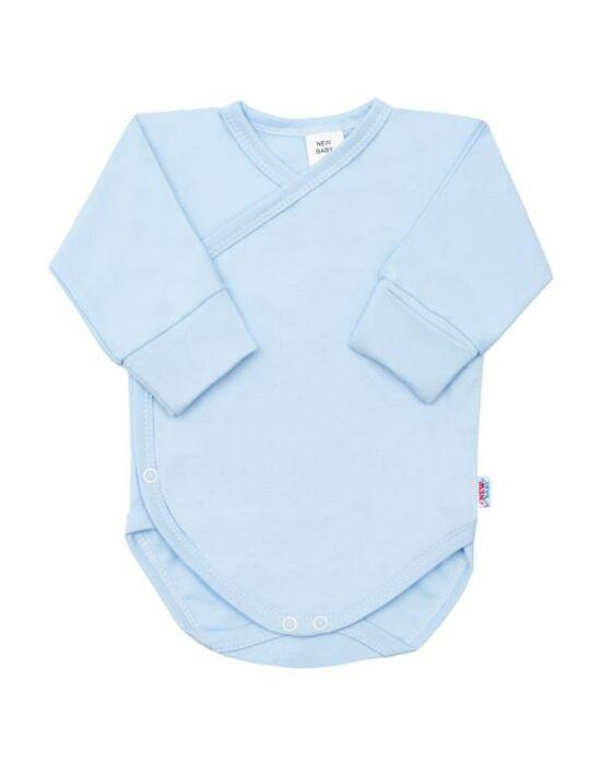 Csecsemő patentos ingecske New Baby kék