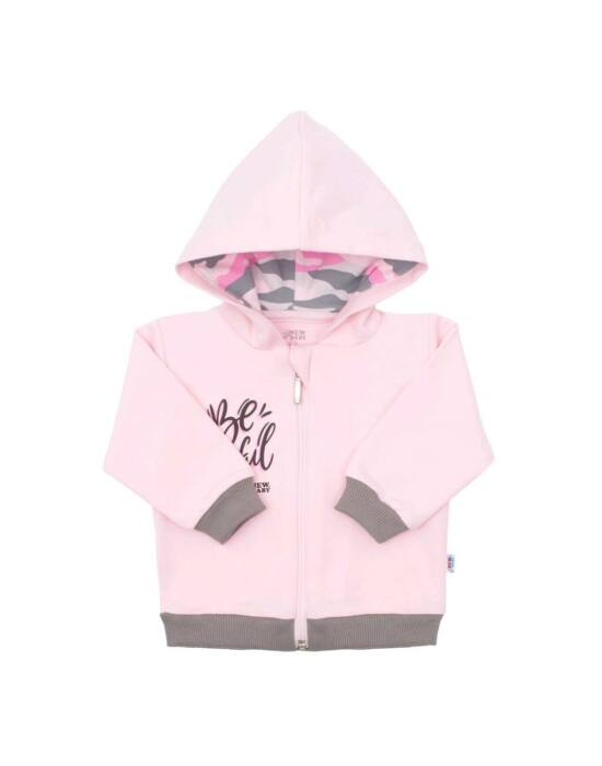 Baba pulóver New Baby With Love rózsaszín