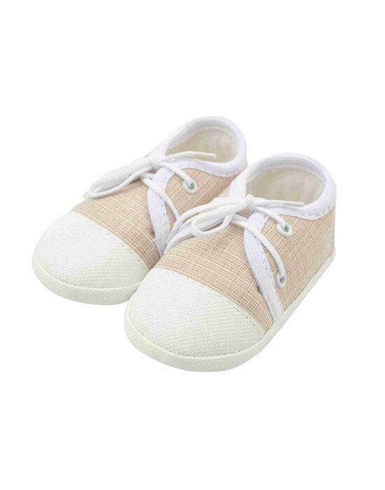 Baba tornacipő New Baby Jeans bézs 6-12 h