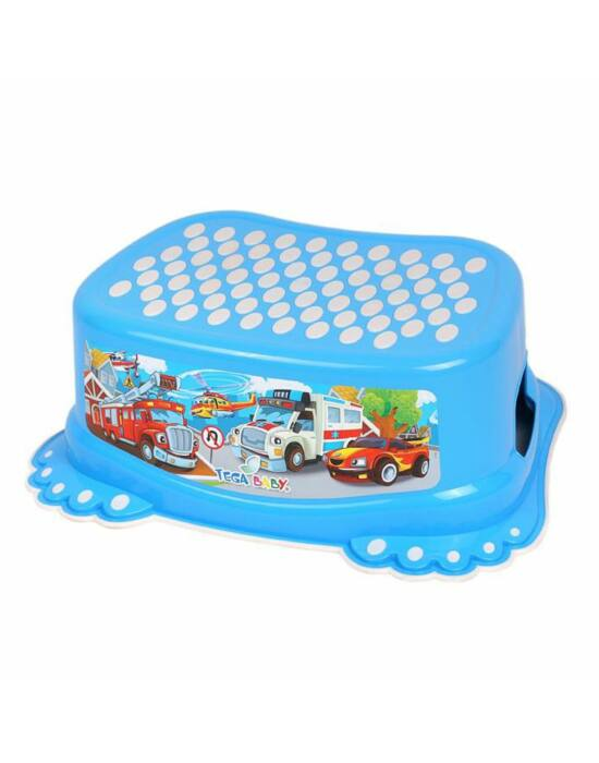 Gyerek csúszásmentes lábtámasz Autók kék