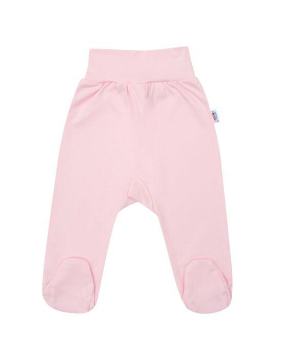 Csecsemő lábfejes nadrág New Baby rózsaszín több méretben és színben