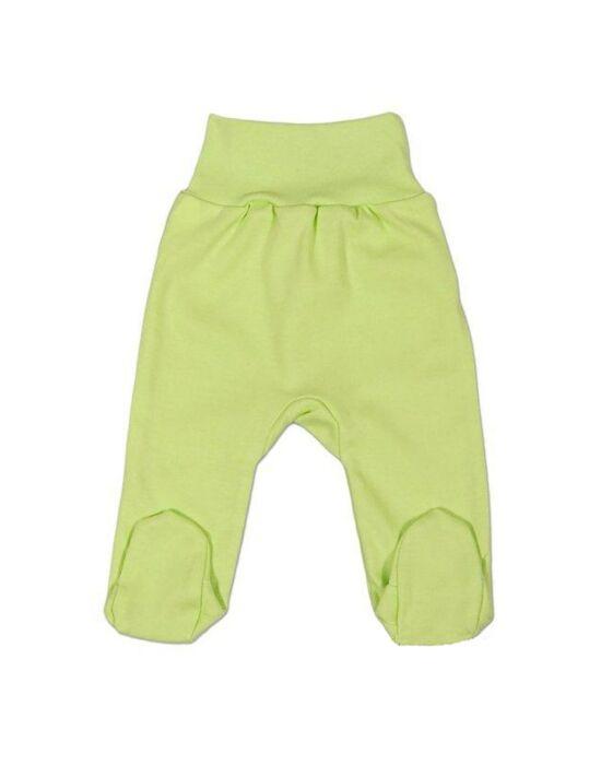 Csecsemő lábfejes nadrág New Baby zöld