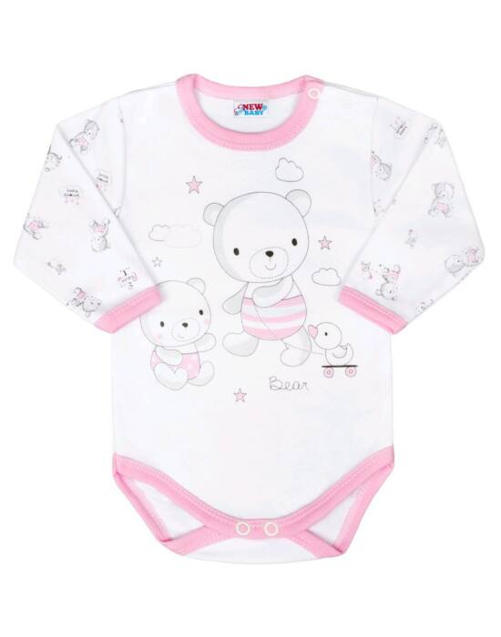 Baba body New Baby Bears rózsaszín