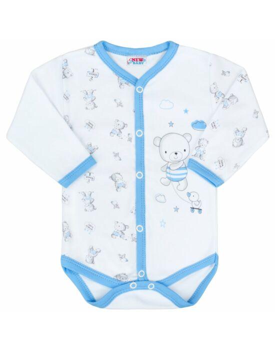 Baba patentos body New Baby Bears kék