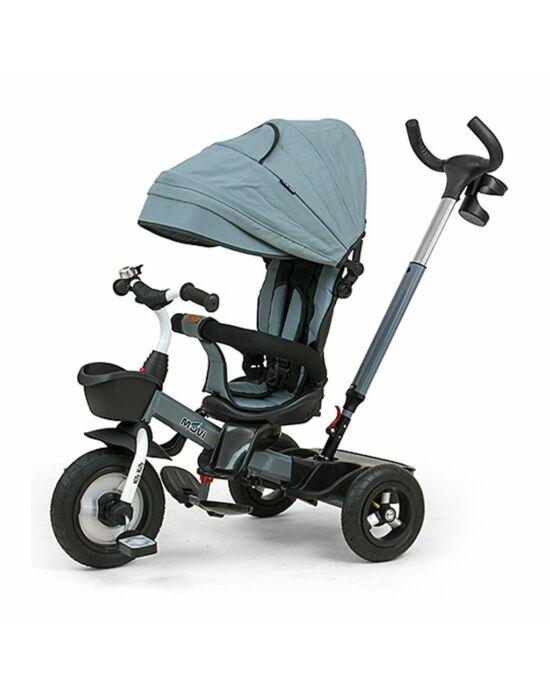 Gyerek háromkerekű bicikli Milly Mally Movi grey