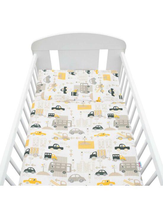 2-részes ágyneműhuzat New Baby 100/135 cm autók