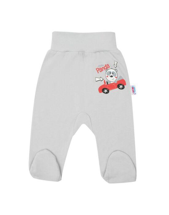 Baba lábfejes nadrág New Baby Crazy Panda