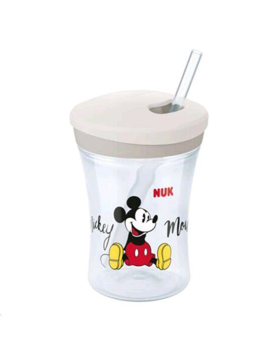 Bájos itató pohár NUK Disney Mickey Mouse Action Cup 230 ml