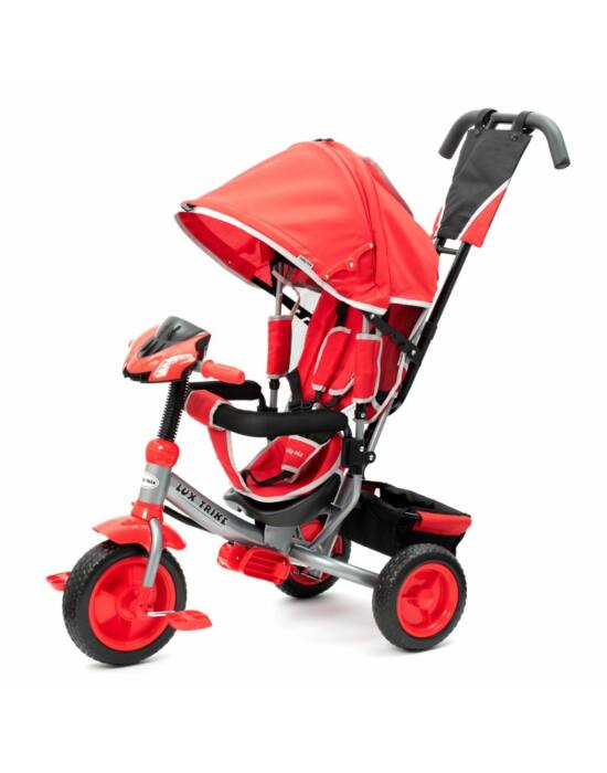 Gyerek háromkerekű bicikli  Baby Mix Lux Trike piros
