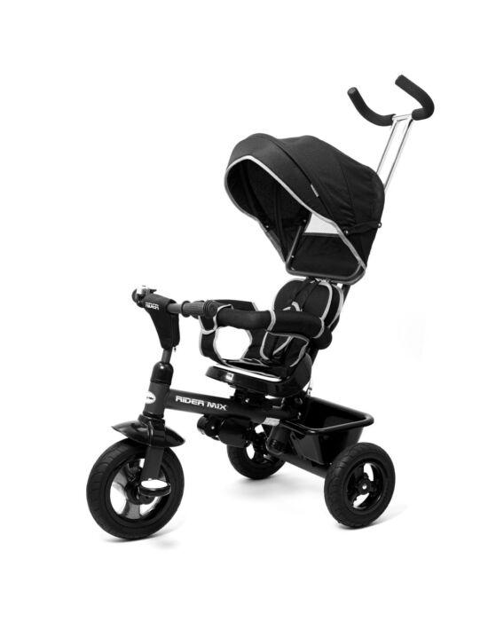 Gyerek tricikli Baby Mix RIDER 360° fekete