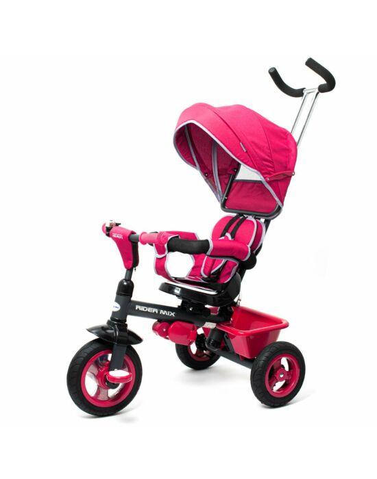 Gyerek tricikli Baby Mix RIDER 360° rózsaszín