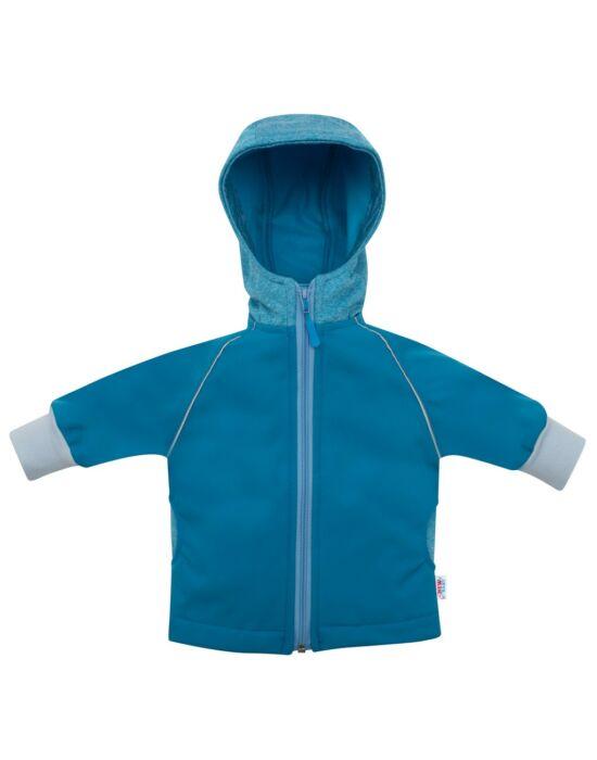 Softshell baba kabát New Baby kék