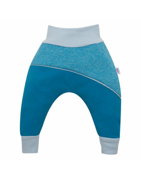 Softshell baba nadrág New Baby kék