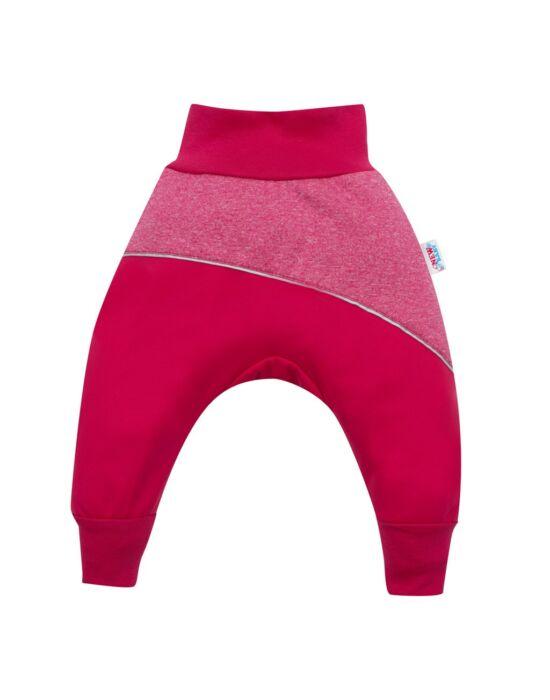 Softshell baba nadrág New Baby rózsaszín