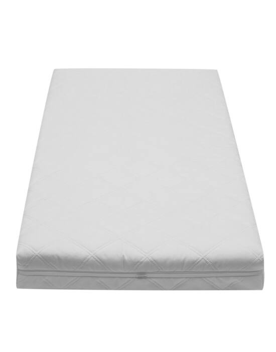 Gyerek matrac New Baby BIBI 120x60x8 kókusz-hab-kókusz fehér