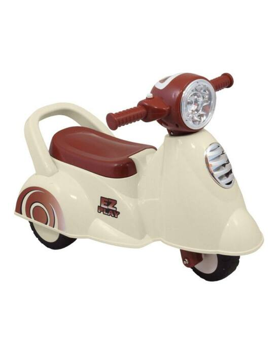 Gyerek zenélős jármű motor Baby Mix Scooter fehér