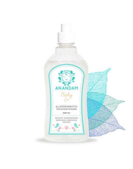 ANANDAM Baby Allergénmentes mosogatószer - illatmentes 500 ml